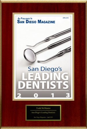 Congratulations to our dentist in Escondido.