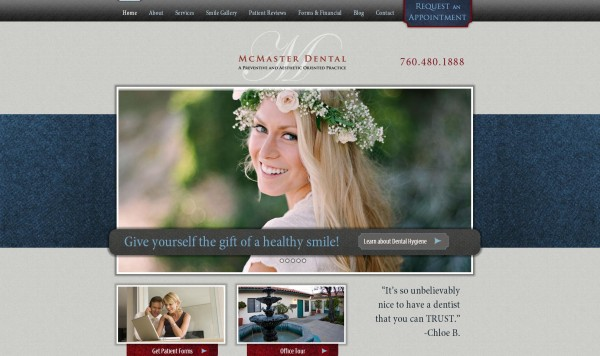 Welcome to our Escondido dentist's new website